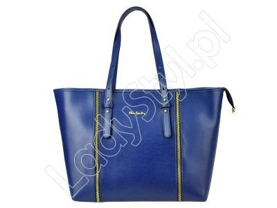 Torebka Pierre Cardin FRZ 1537 MELODY - Kolor niebieski