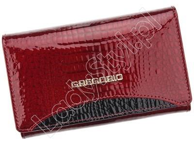 Portfel Gregorio GP-112 - Kolor czerwony