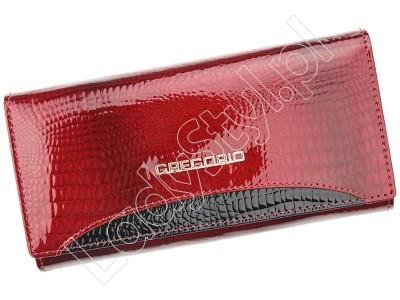 Portfel Gregorio GP-120 - Kolor czerwony