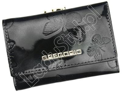 Portfel Gregorio BF-117 - Kolor czarny