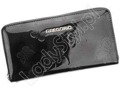 Portfel Gregorio BF-119 - Kolor czarny