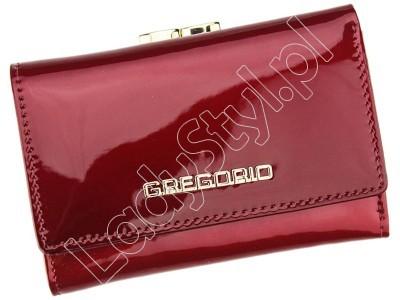 Portfel Gregorio SH-117 - Kolor czerwony