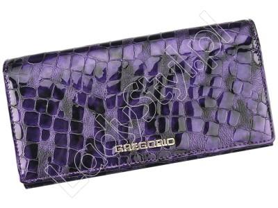 Portfel Gregorio FS-102 - Kolor fioletowy