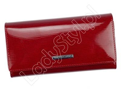 Portfel Gregorio LN-100 - Kolor czerwony