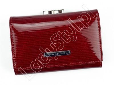 Portfel Gregorio LN-117 - Kolor czerwony
