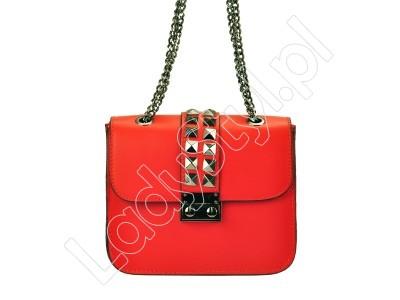 Kuferek Patrizia Piu 418-078 - Kolor czerwony