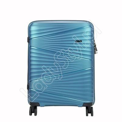 Walizka Pierre Cardin ITP01 TZ858 M - Kolor niebieski