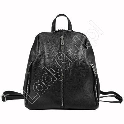 Plecak Patrizia Piu 518-011 - Kolor czarny