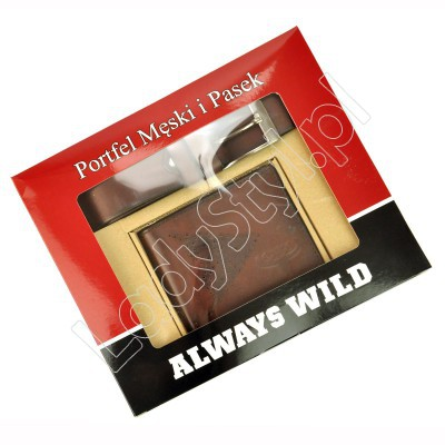 Zestaw na prezent Always Wild PSB-N7-02-GG