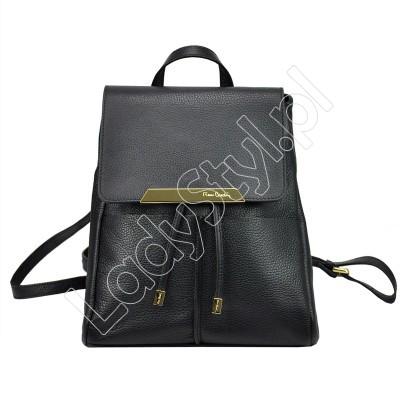 Plecak Pierre Cardin FRZ 1844 DOLLARO - Kolor czarny