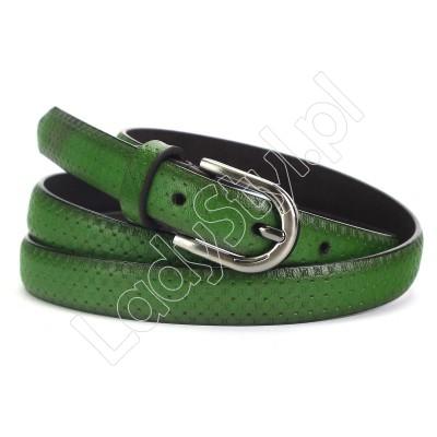 Pasek LEO CVV 80205 - Kolor zielony
