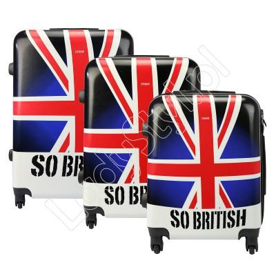 Walizka Ormi PC858# GREAT BRITIAN