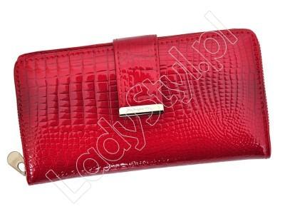 Portfel Jennifer Jones 5280 - Kolor czerwony