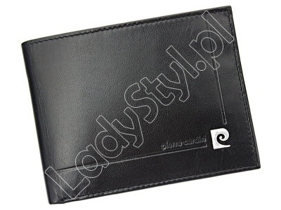 Portfel Pierre Cardin YS507.1 325 - Kolor czarny