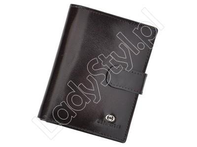 Portfel Cefirutti 75699-9 - Kolor ciemny brąz