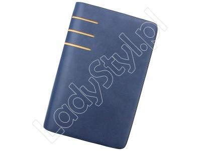 Portfel Jessica 6-148 - Kolor niebieski