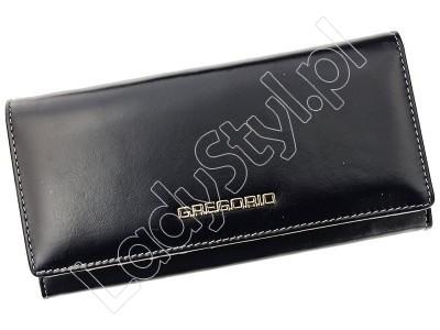 Portfel Gregorio N120 - Kolor czarny