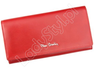 Portfel Pierre Cardin 01 LINE 100 - Kolor czerwony