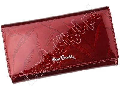 Portfel Pierre Cardin 02 LEAF 114 - Kolor czerwony